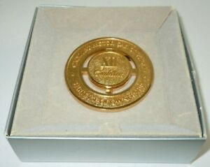 Cadillac Heritage Of Ownership Xii 12 Medallion Emblem Grille Gold Tone Boxed