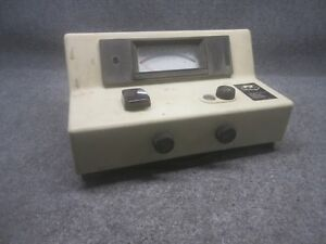 Vintage Bausch Lomb Spectronic 20 Single beam Spectrophotometer 33 31 72