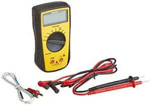 Sperry Instruments Dm6250 Digital Multimeter Autorange 7 Function 19 Range