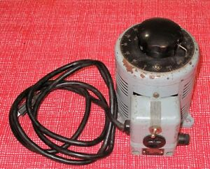 Superior Electric Powerstat Variable Autotransformer Type 116 0 140 Vac 7 5a