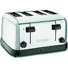 Waring Wct708 Medium duty 4 slot Commercial Toaster