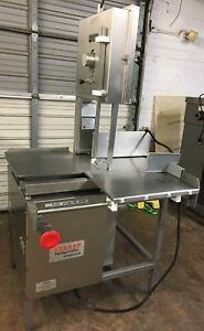 Hollymatic Hi yield 16 Commercial Vertical Meat Bone Band Saw Price Reduced