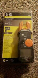 Klein Tools Cl3200 200a Ac Fork Tester Brand New 3 Shipping