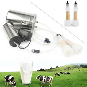 2l Portable Electric Soft Milking Machine Vacuum Pump For Farm Cow Sheep Goat
