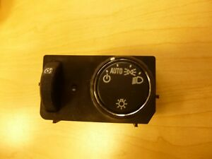 2015 To 2019 Colorado And Canyon Headlamp Switch With Out Fog Light