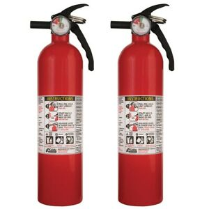 Fire Extinguisher Home Vehicle Rv Car Safety Products Accessories Kidde 2 pack