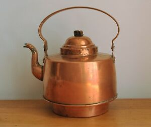 Antique Swedish Copper Tea Kettle 3 Liter Saw Bor S Sa Wassberg