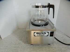 Bunn Omatic Coffee Pot Warmer Rsw1 tall With Carafe