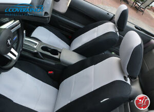 Ford Mustang Front Seat Covers Coverking Spacer Mesh Custom Made To Order