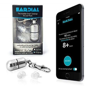 Eardial Ear Plugs Invisible Smart Earplugs For Live Music Comfortable And