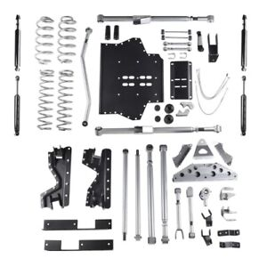 Rubicon Re7504t 4 5 Inch Extreme Duty Long Arm Lift Kit For 97 02 Jeep Tj