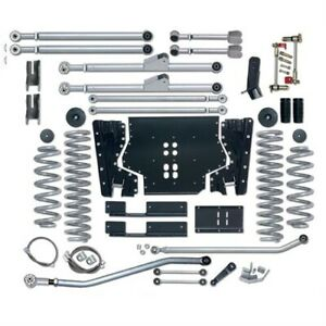 Rubicon Re7205 5 5 Inch Extreme Duty Long Arm Lift Kit For 97 02 Jeep Tj