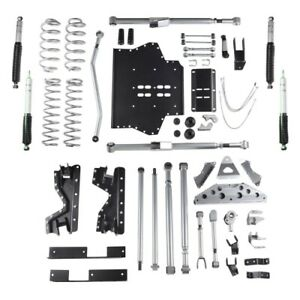 Rubicon Re7504m 4 5 Inch Extreme Duty Long Arm Lift Kit For 97 02 Jeep Tj