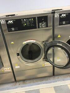 2014 adc 80lb 100g force Commercial Washer coin Op Excellent Condition