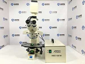 Carl Zeiss Axioskop 451485 Trinocular Compound Microscope More