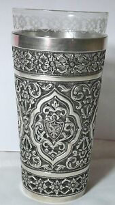 Faberge Tea Glass Holder Silver 84 Imperial Russia S Peterburg 1905