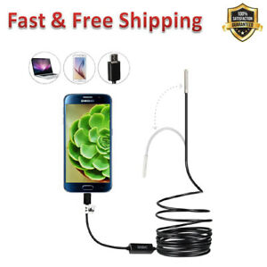 Probe Usb Endoscope Semi Rigid Cable Waterproof Inspection Camera Snake Camera