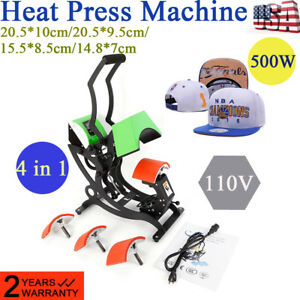 Digital Heat Transfer Machine Four In One Printing Machine Manual Machine Hat