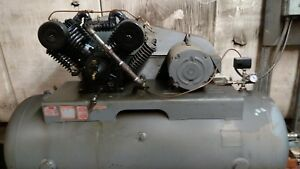 10 Horsepower 120 Gallon Dayton Air Compressor Perfect Shape