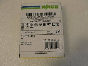 Wago 750 459 4 Channel Analog Input Module New In Box
