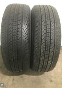 2x P215 55r17 Michelin Primacy Mxv4 8 32 Used Tires