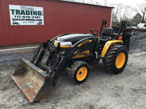 2011 Cub Cadet Yanmar Ex3200 4x4 Compact Tractor W Loader Only 100 Hours