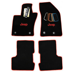 Jeep Renegade Floor Mats Ultimat 32oz 2ply Embroider In Your Jeep Color Usa