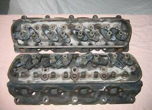 Ford Engine 289 302 Small Block C5ae Cylinder Heads 1965 Motor See Upgrades
