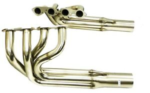 Maximizer Stainless Header For 65 72 Chevy 396 402 427 Big Block Engines 2pc