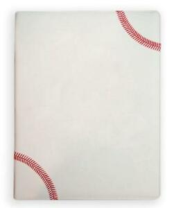 Baseball Portfolio Notebook Planner Organizer Made From Real Baseball Material