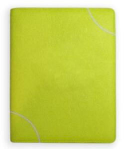 Tennis Portfolio Planner Organizer Notebook Made From Real Tennis Ball Material