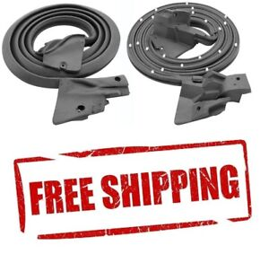 Firebird Door Weatherstrip Trans Am Door Weatherstrip Rubber Seal Pair New