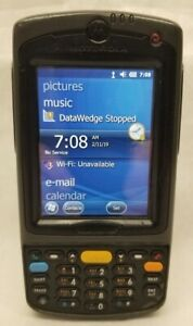 Motorola Mc75a0 Symbol Handheld Computer Pda Windows Barcode Scanner Free Ship