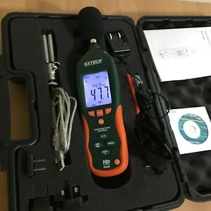 Extech Instruments Hd600 Datalogging Sound Level Meter 30 130db Accuracy 1 4db