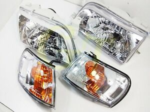 Headlight Fit For Corolla Toyota Ae100 Ae101 Ee E100 Wagon 93 97 Pa63 Gt G