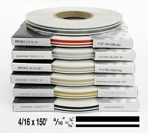 4 16 X 150 Roll Of Automotive Truck Accent Pinstripe Stripe Many Colors