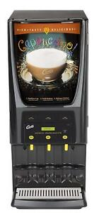 Wilbur Curtis G3 System 3 Station Commercial Cappuccino Machine Pcgt3