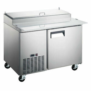 Coldline Pic1 hc 50 Refrigerated Pizza Prep Table 6 Pans
