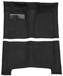 New 1961 1964 Chevrolet Impala Carpet Set Black Molded W Backing And Heel Pad
