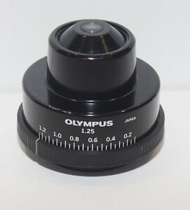 Olympus 1 25 Na Abbe Substage Condenser For Bh2 Microscope