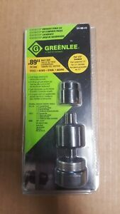 1 New Greenlee 7211bb 1 2 Slug Buster Knock Out Punch Set 1 2 Conduit 89