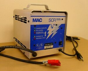 Mac 24 Volt 20 Amp 24v Battery Charger Golf Cart Floor Scrubber 603235 Scr242017