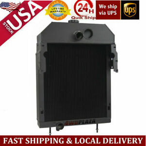 5 Row Radiator Aftermarket Case international farmall 300 350 Tractor 361704r93