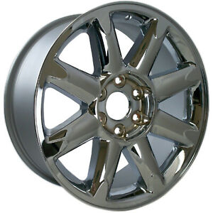 05304 New Compatible 20 Inch Chrome Aluminum Wheel Fits Gmc Yukon 2007 13 Chrome