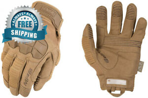 Mechanix Wear M pact 3 Coyote Tactical Gloves large Brown