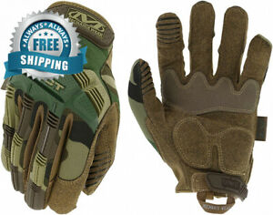 Mechanix Wear M pact Woodland Camo Tactical Gloves x large Camouflage
