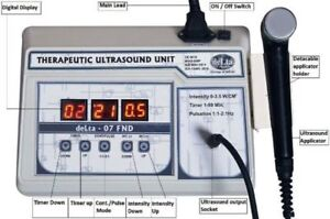 Ultrasound Ultrasonic Therapy Machine Pain Relief Ultrasound 1mhz Original Ghd