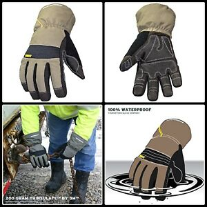 Winter Work Glove Thinsulate Waterproof Cold Weather Hands Protection Large