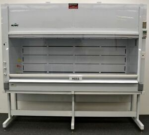 8 Chemical Laboratory Fume Hood W Base Service Valves poly Nuaire