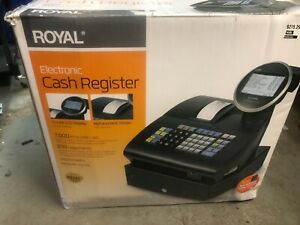 Royal 1100ml Electronic Cash Register 39285k fe